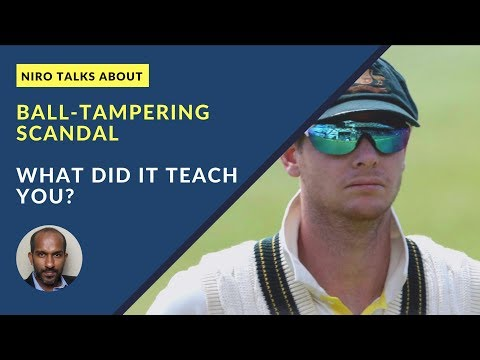 Ball tampering Scandal#Integrity