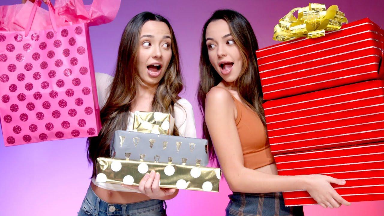 Twins Swap Birthday Gift Exchange - Merrell Twins