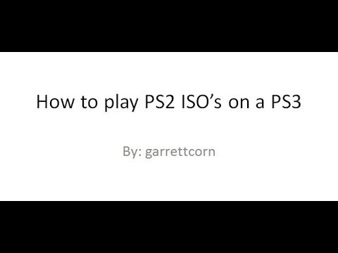 [TUTORIAL] How to run PS2 ISO on PS3 CFW