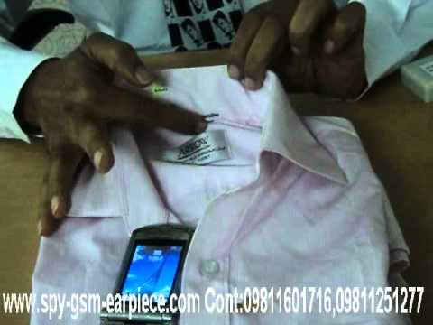 SPY BLUETOOTH SHIRT WITH EARPIECE SET IN SHALIMAR BAGH DELHI,SPY EARPIECE WITH BLUETOOTH SHIRT