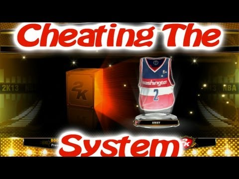 NBA 2k13 My Team Bronze Pack Opening Cheating the System