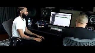 NIPSEY HUSSLE -HIGHER- IN STUDIO WITH DJ KHALED