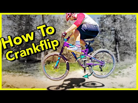 How to Crank Flip on an MTB tutorial | Skills With Phil