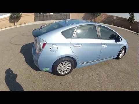 2012 HOV sticker equiped Prius Plug-in Outside View