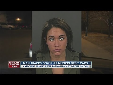 Man tracks down his missing debit card