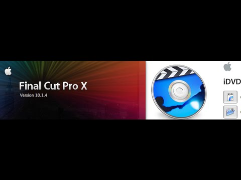 iMac How To | Create iDVD Scene Selections From Final Cut Pro X