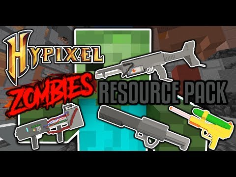 Hypixel Zombies 3D Resource Pack