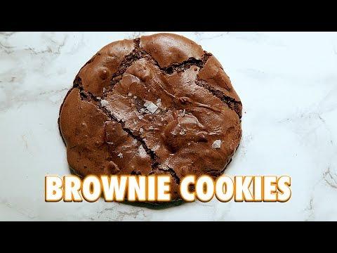 Fudgey Brownie Cookies