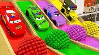 (Video Educativo) Aprende los colores con los juguetes para coches