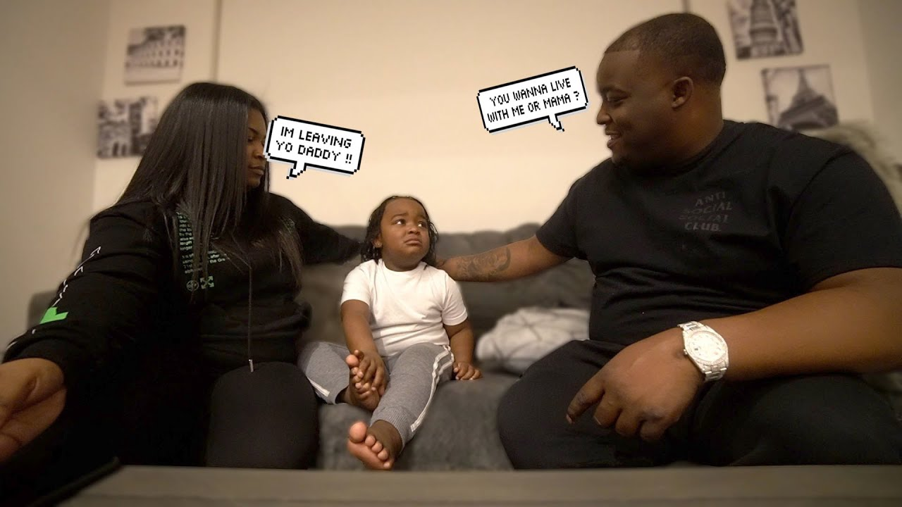 Telling WooWop Me & His Mom Is Separating To See Who Would Want To Live With | I CANT BELIEVE THIS