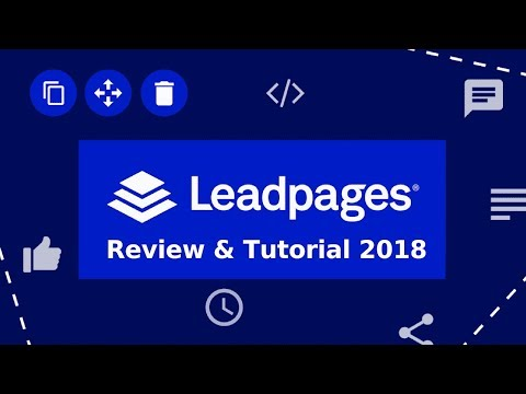 Leadpages Review - Get 14 Day LeadPages Free Trial HERE