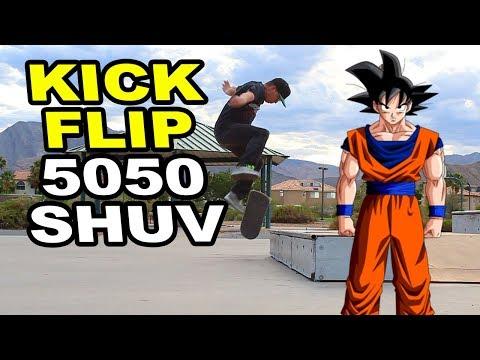 Kickflip Front Grind SHUV Out!