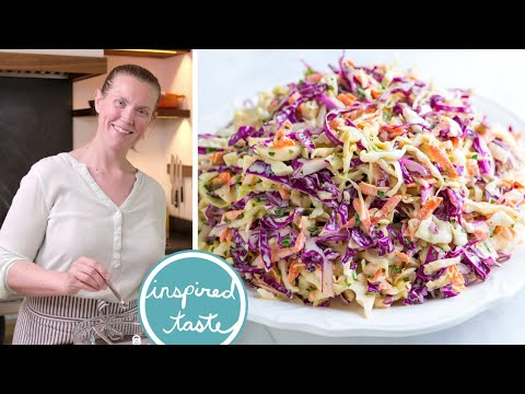 Seriously Good Homemade Coleslaw Recipe - How to Make Coleslaw From Scratch