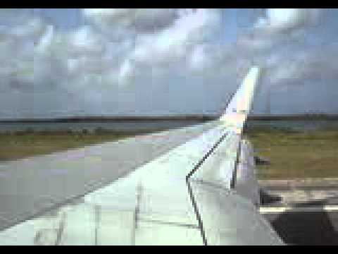 takeoff in aruba american airlines