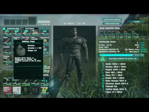 How to make a forge - ARK Survival Evolved