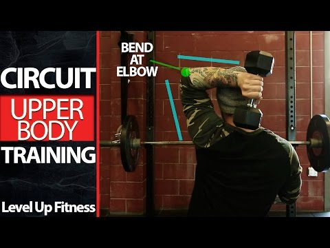 CIRCUIT TRAINING - Chest Back Triceps