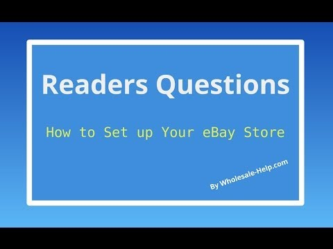 How to Set Up an eBay Store