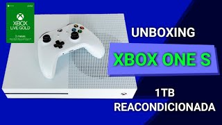 UNBOXING XBOX ONE S 1TB REACONDICIONADA | ME LO COMPRE POR HOT SALE EN OFERTA