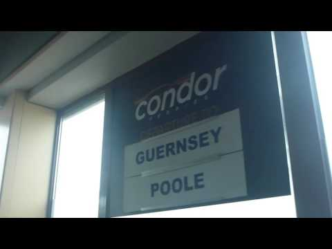 Condor Liberation Ferry from St Helier Jersey to Poole England Part 1   Oct 2015