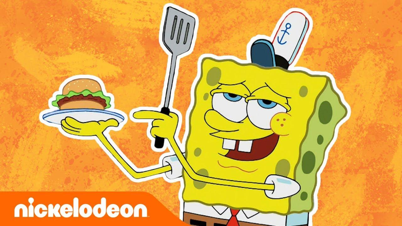 SpongeBob Schwammkopf | Krabbenburger-Momente 2 | Nickelodeon Deutschland