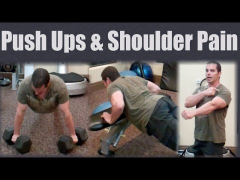 Shoulder Pain from Push Ups? Try this...