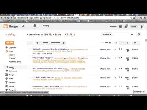 Blogging Part 2 Creating Tabs and Links