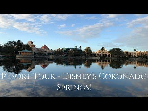 New! Disney's Coronado Springs Resort Tour 2018