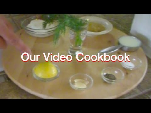 How to make Fat Free Ranch Dressing Recipe | Our Video Cookbook #95