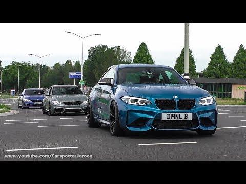Bimmerfest 2018 | Cars Arriving, Traffic Jam & Drag Races | 10.06.2018