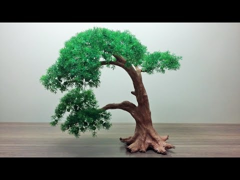 How to make a Artificial Bonsai Tree.
