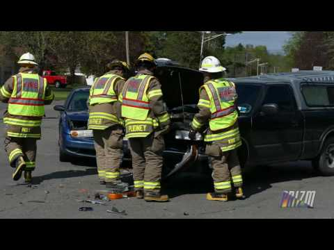 Two Vehicle Traffic Accident Cortlandville,NY 5 16 16