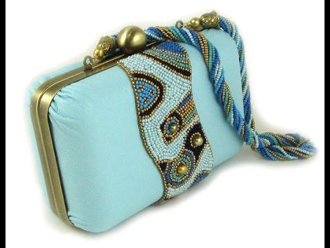 Handbag Assembly Rigid Case with Metal Frame Ann Benson