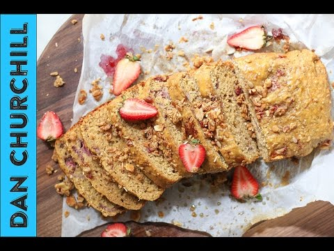 Make A Strawberry Chia ANZAC Loaf With Your Leftover Biscuits