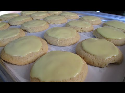 How to make Glazed Lemon Cookies