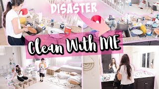 Download COMPLETE DISASTER CLEANING MOTIVATION    ALL DAY CLEAN WITH ME 2019 Video