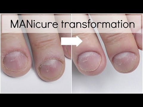 Dry Electric File Manicure for Men