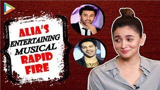 Alia Bhatt's SUPERB Rapid Fire On Ranbir, Salman, Varun, Ranveer & Arijit | PRADA