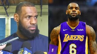 LeBron James Responds to Joining Lakers Rumors