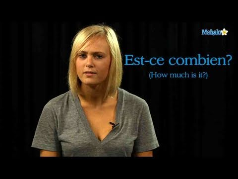 How to Ask How Much Something Costs in French