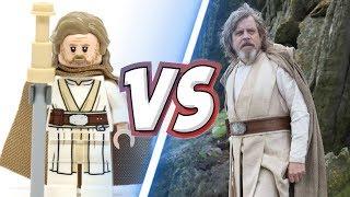 LEGO STAR WARS VIII vs ACTEURS