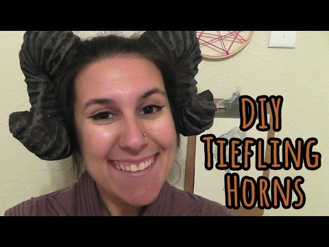 How to Make Cheap and Easy Tiefling Horns
