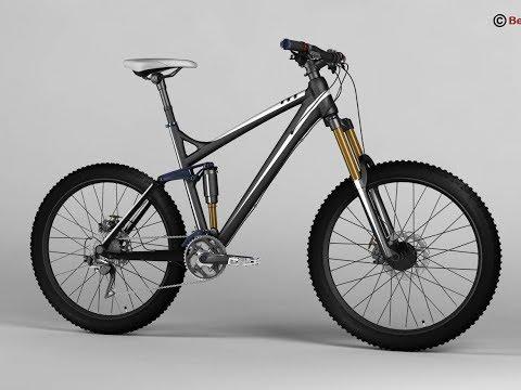 3D Model of Mountain Bike