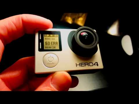 How To Fix SD Card Error On GoPro Hero 4 Black | All Generations | Tutorial