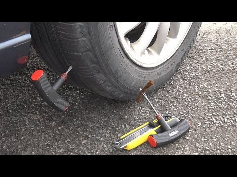DIY How to Fix a Rear Flat Tire EASY