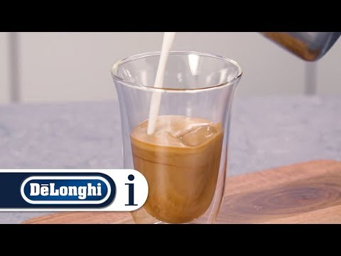 How to make coffee with hot milk using your Dedica Pump Coffee Maker EC680 and EC685