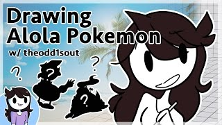 Drawing Alola Pokemon w/ theodd1sout