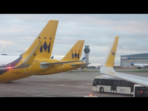 Monarch Airlines Flight ZB580 (Manchester - Faro) HD