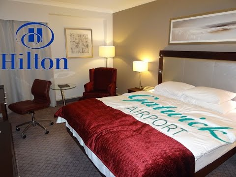 Hilton Hotel Room Tour at Gatwick Airport - South Side Terminal