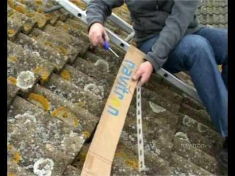 mounting solar panels using navitron roof straps