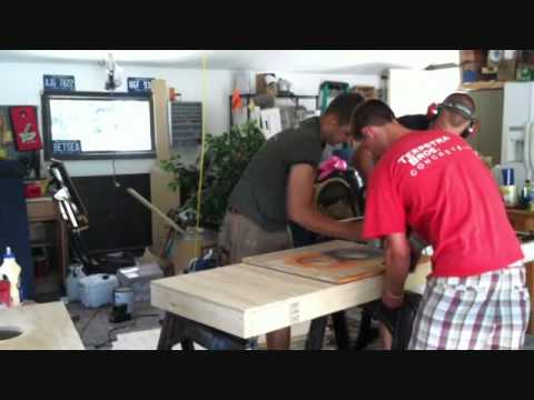 How To Build a Cornhole Board in Two Minutes